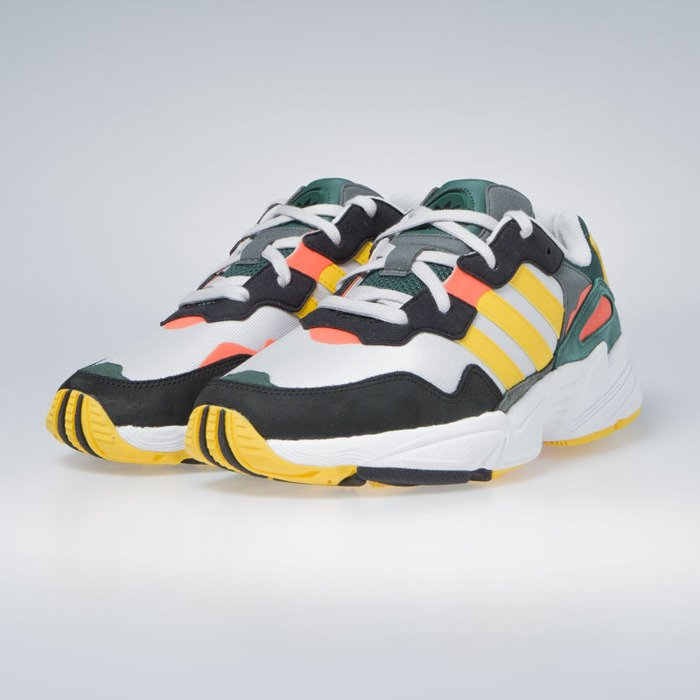 huge selection of 71672 37cb7 ... Sneakers Adidas Originals Yung-96 grey one bold gold solar red (DB2605  ...