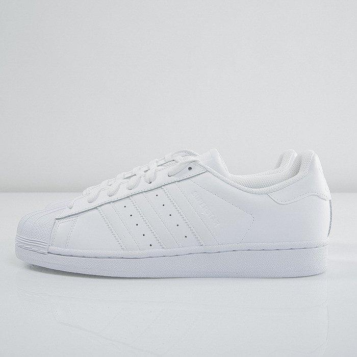 scarpe adidas superstar fondazione bianco / bianco b27136