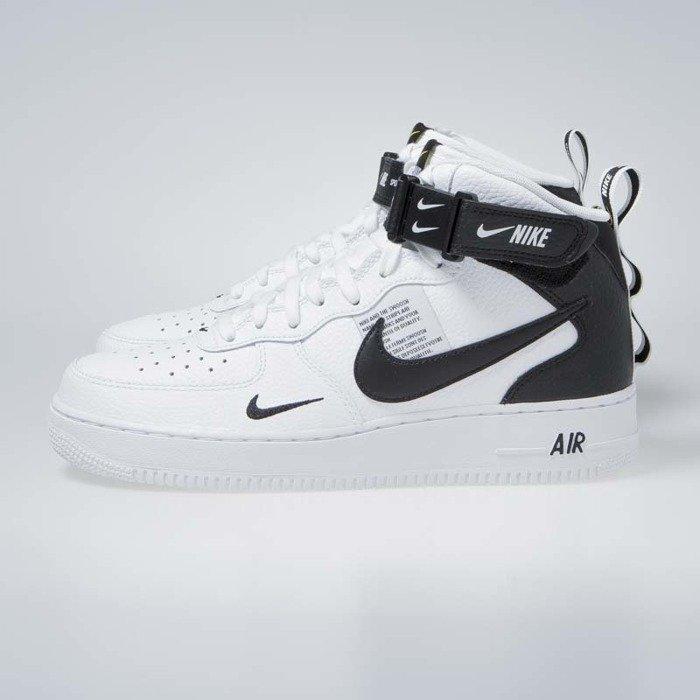 cheap for discount 5b3c5 15e6e ... Sneakers Nike Air Force 1 1 Mid  07 LV8 white   black-tour yellow ...