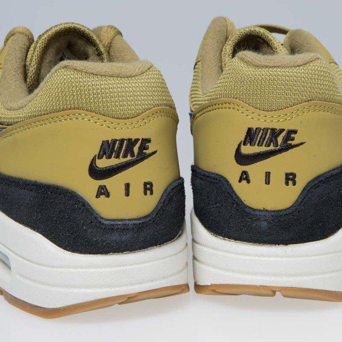 best website 38601 4c5aa Sneakers Nike Air Max 1 golden moss blue force-black (AH8145-302 ...