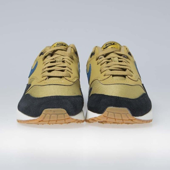 new style 0ba72 d7ada ... Sneakers Nike Air Max 1 golden moss blue force-black (AH8145-302 ...