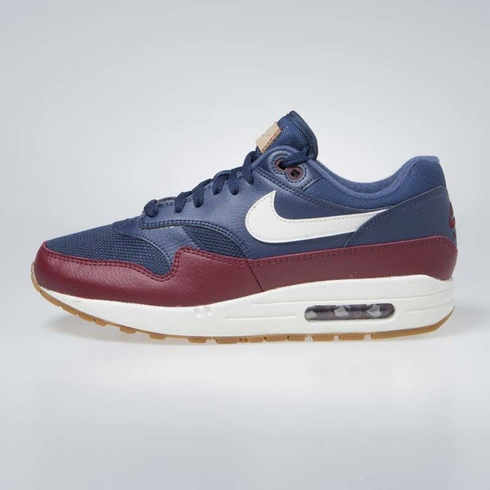the latest f9b1e ad378 ... Sneakers Nike Air Max 1 navy sail-team red-sail (AH8145- ...