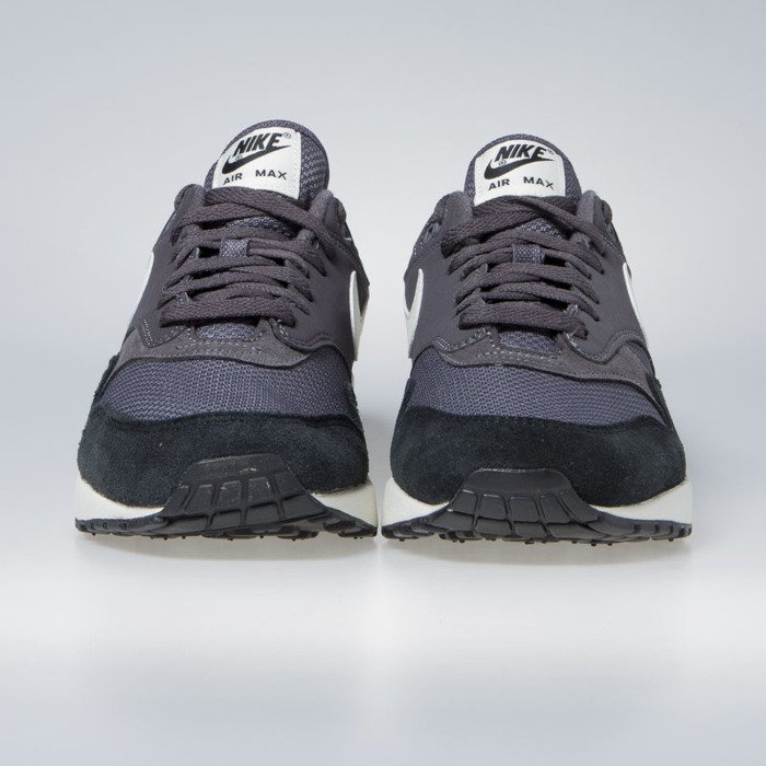 226258a35b ... Sneakers Nike Air Max 1 thunder grey / sail-sail-black (AH8145- ...