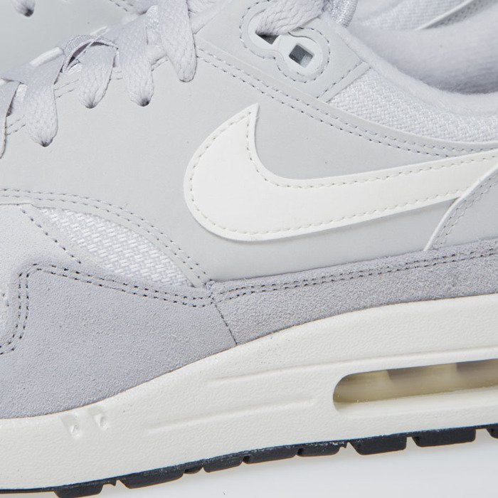 online retailer 39653 12aac ... Sneakers Nike Air Max 1 vast grey   sail-sail-wolf grey (AH8145 ...