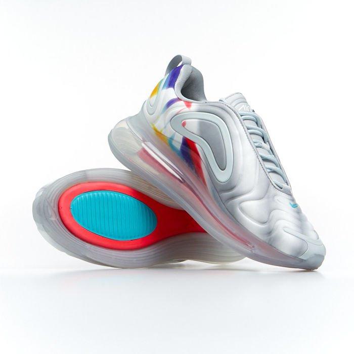 Sneakers Nike Air Max 720 wolf greyteal nebula (AR9293 011)