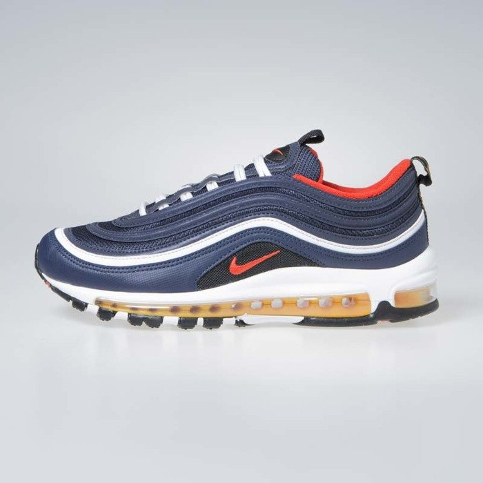 60ce242c751 ... Sneakers Nike Air Max 97 midnight navy   habanero red (921826-403) ...