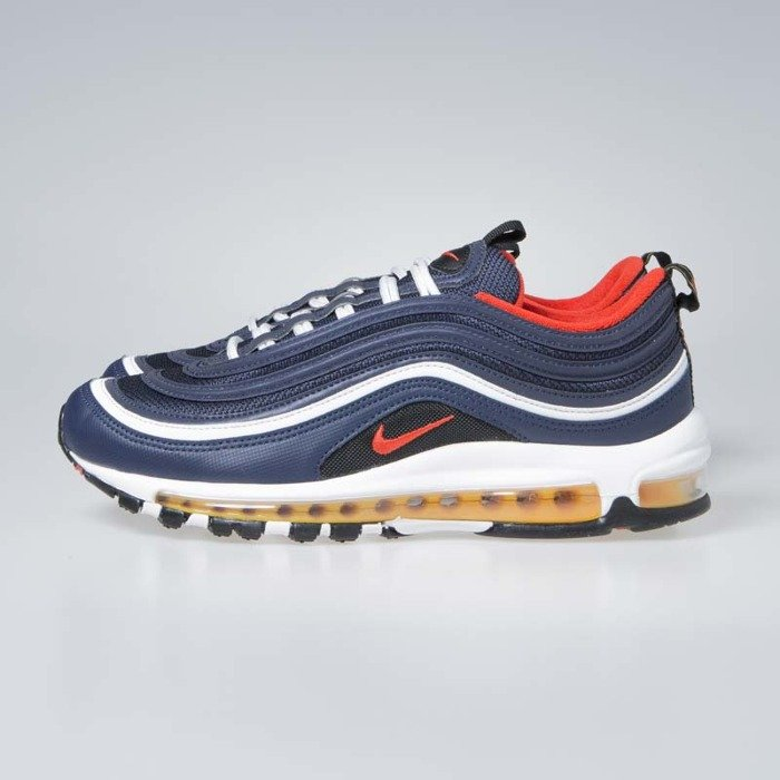 low priced 810c4 6aad6 Sneakers Nike Air Max 97 midnight navy / habanero red (921826-403)