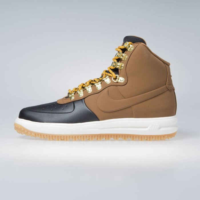5e18541cfdc ... Sneakers Nike Lunar Force 1 Duckboot  18 black   lt british tan-phantom  ...