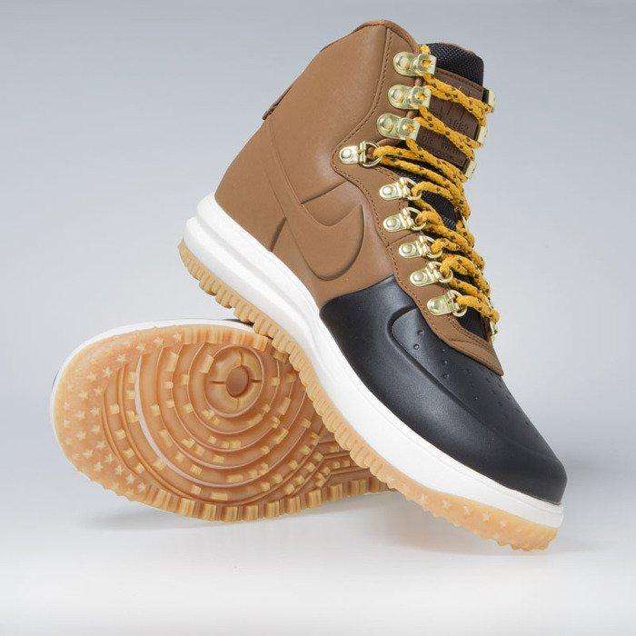 wholesale dealer 6ccd3 84f85 ... Sneakers Nike Lunar Force 1 Duckboot  18 black   lt british tan-phantom  ...