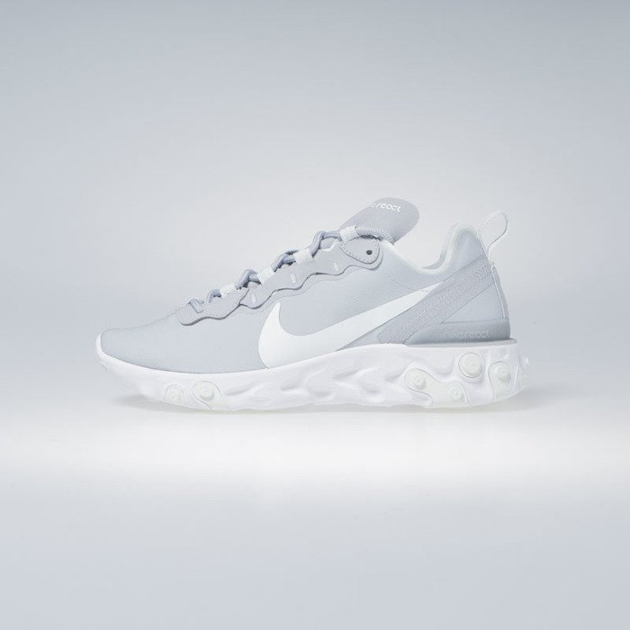 cheap for discount 4ab30 f9664 ... Sneakers Nike React Element 55 wolf grey   ghost aqua-white (BQ2728-005  ...