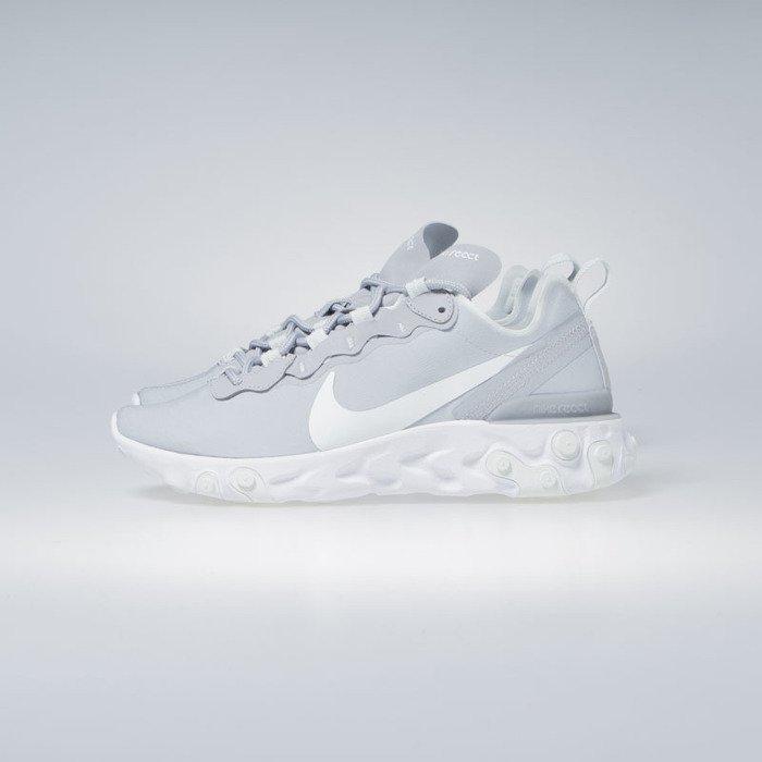 Sneakers Nike React Element 55 wolf grey ghost aqua white (BQ2728 005)