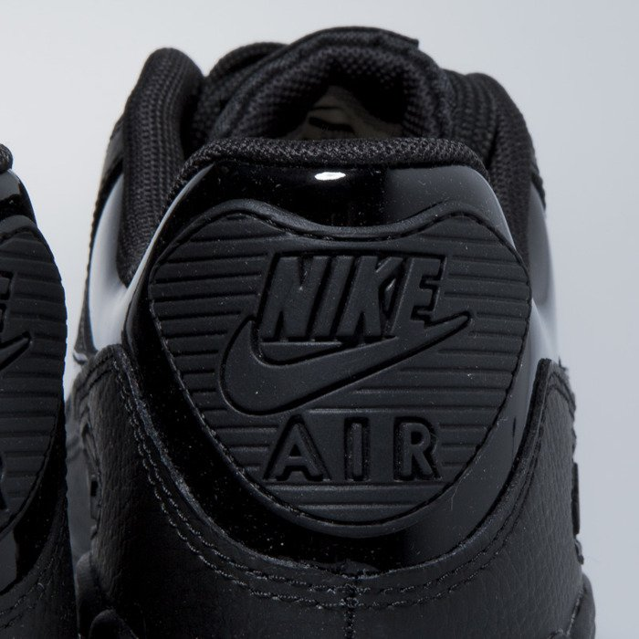 purchase cheap 7beff 35391 ... Sneakers Nike WMNS Air Max 90 Leather black  black-black 921304-002 ...