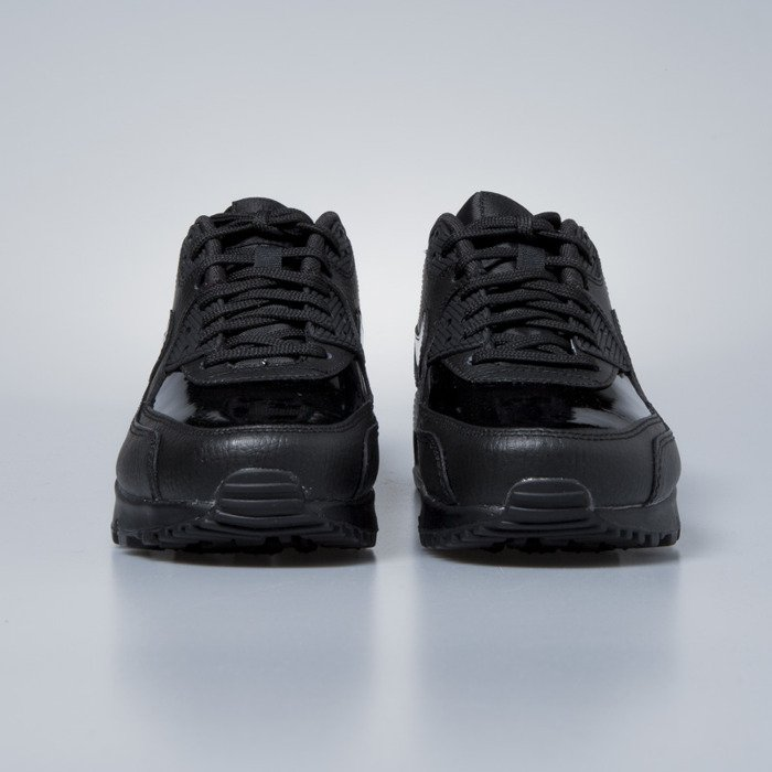 new styles da12d 1db6f ... Sneakers Nike WMNS Air Max 90 Leather black   black-black 921304-002 ...