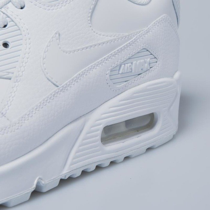 promo code 02322 0b521 ... Sneakers Nike WMNS Air Max 90 Leather white   white - white 921304-101  ...