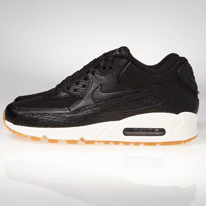 size 40 a1ded 062fe ... Sneakers Nike WMNS Air Max 90 Premium Leather black   black-dark grey- ivory ...