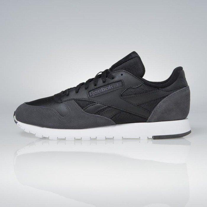 autentyczny Najnowsza najlepiej kochany Sneakers Reebok Classic Leather MO black / coal / white / skull grey BS5146