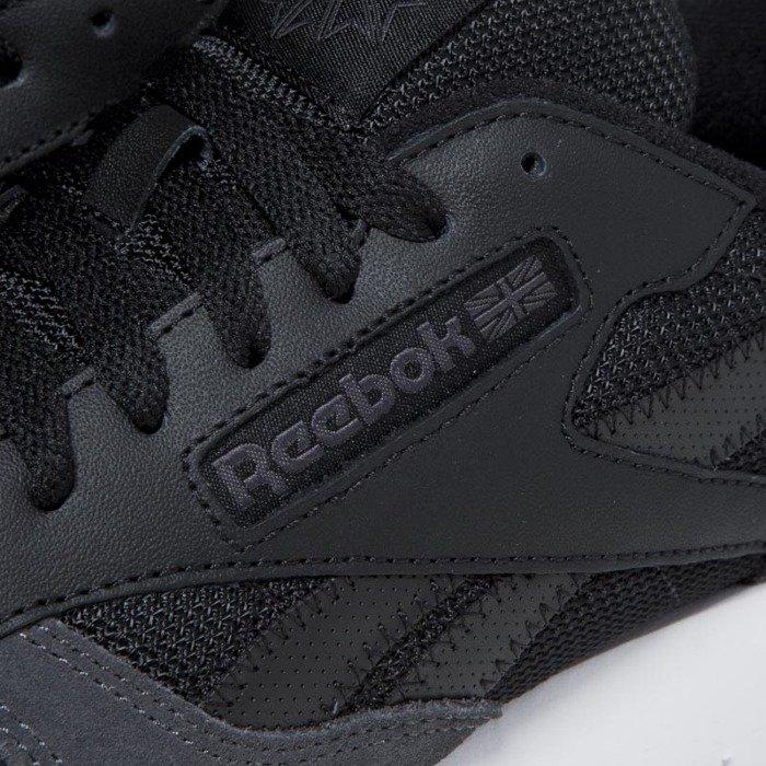 a816affba6967 ... Sneakers Reebok Classic Leather MO black   coal   white   skull grey  BS5146 ...
