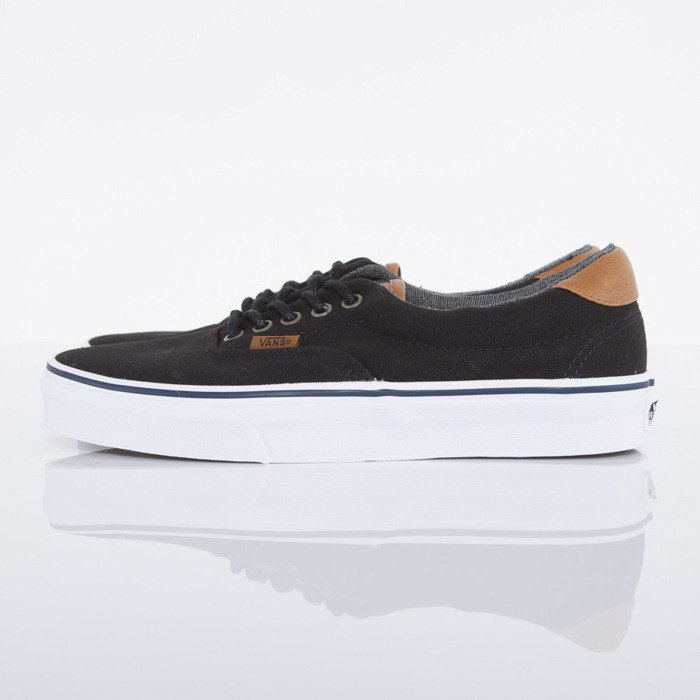 vans era 59 shoe - black washed
