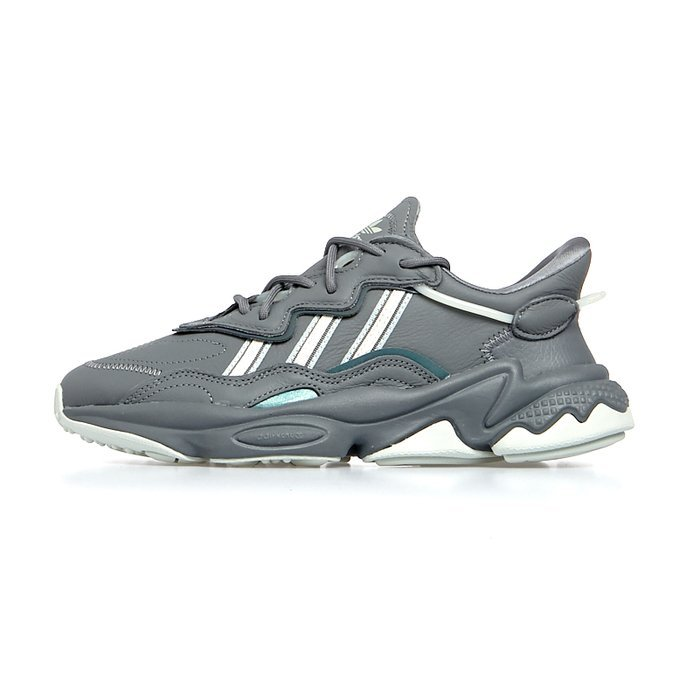Sneakers WMNS Adidas Originals Ozweego grey four/clean brown/ash silver  (EE5718)