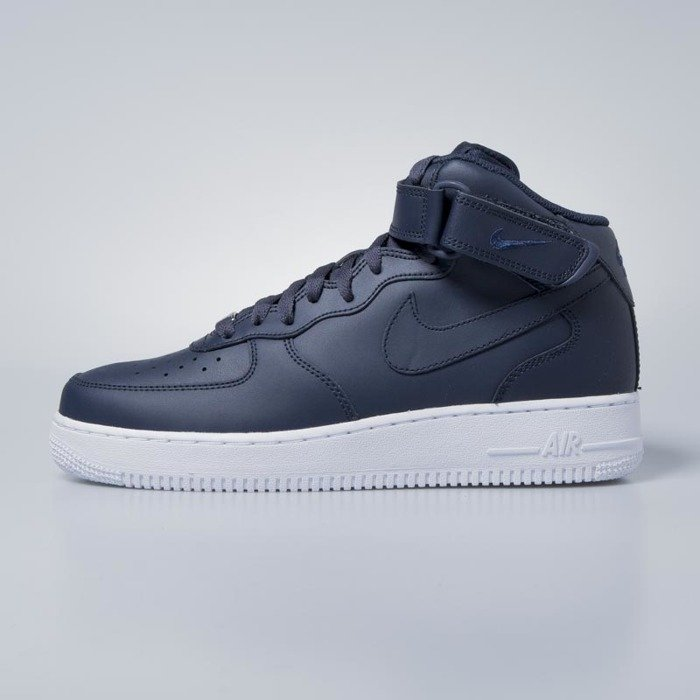 official photos efaeb eedbf Sneakers buty Nike Air Force 1 Mid '07obsidian / obsidian - white  315123-415 | Bludshop.com