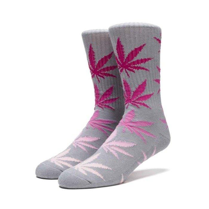df90d346f7c7d Socks HUF Fader Plantlife Crew Socks pink | Bludshop.com