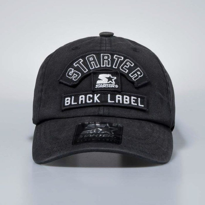 6824e96fae7a6 Starter BLACK LABEL starpback Carter Pitcher Cap black ST-CARTER-3055-PT
