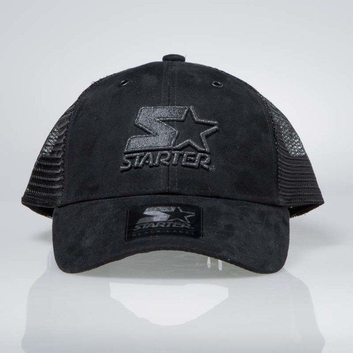 807a3a222b96d Starter snapback Shot Mesh Back Pitcher Cap black ST-SHOT-3004 ...