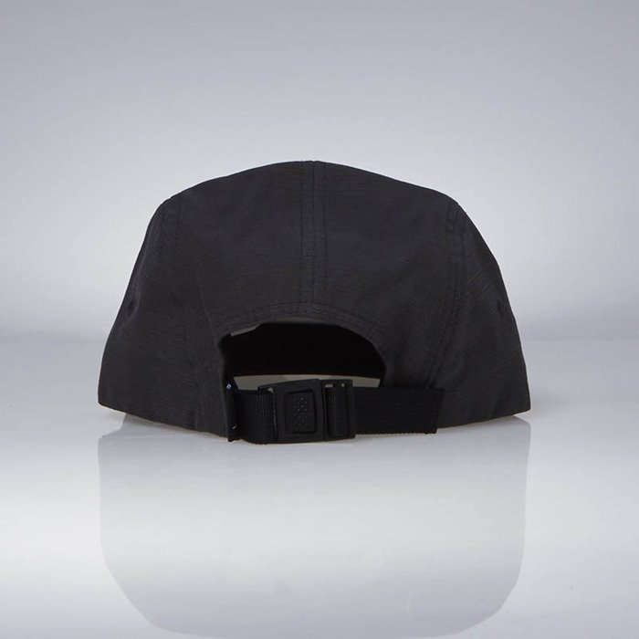 f32527a715c ... Stussy 5Panel Reverse Twill Camp Cap black ...
