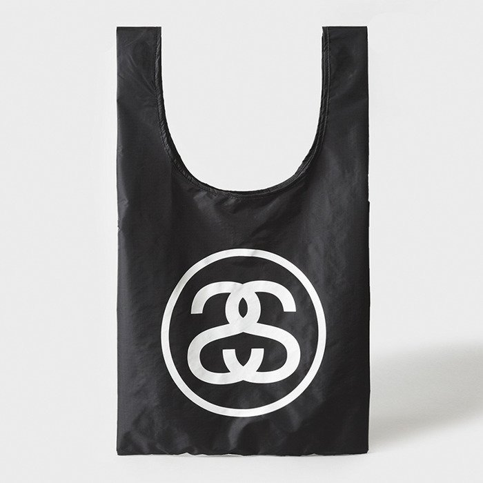 0259dd96fda43f Stussy SS-Link Fold Up Bag black