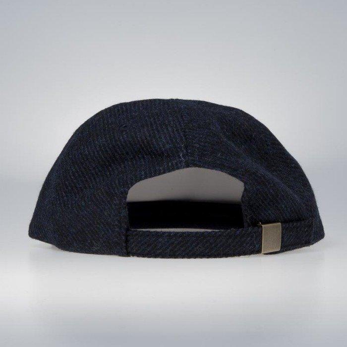 568b06fff34 ... Stussy Stock Lock Wool Strapback Cap blue ...
