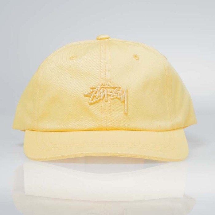 Stussy Tonal Stock Low Cap yellow  afbae148a63