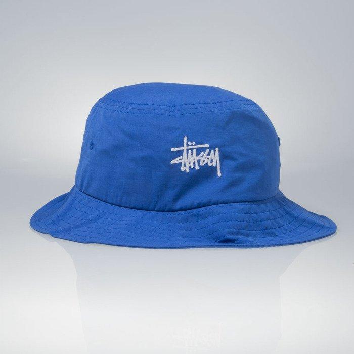 5d737ed7979 ... Stussy bucket hat Classic Logo blue ...