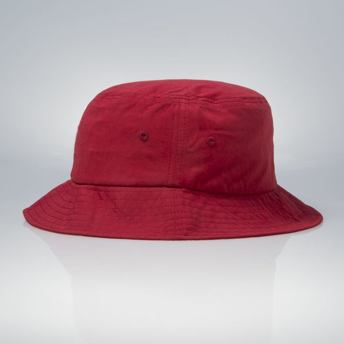 6ef6ee80661 Stussy bucket hat Classic Logo red ...