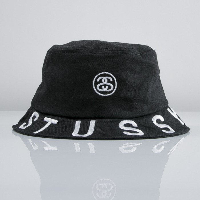 84c9b0dc14c Stussy bucket hat Tribe Brim black