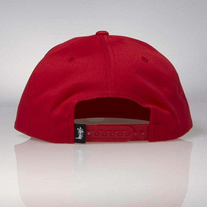 Stussy snapback Stock Lock SU17 Cap red  2596fc85981