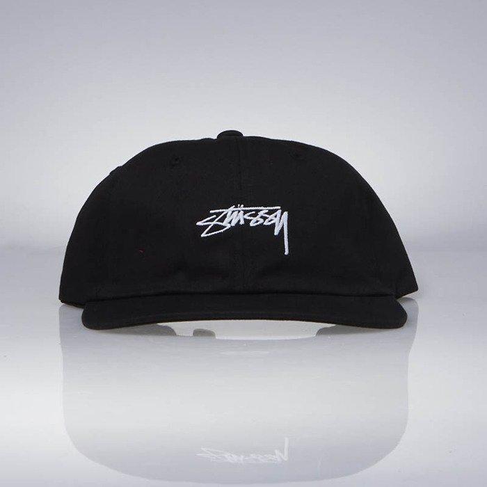 ... Stussy strapback Smooth Stock Low Cap black ... 7bf572857989