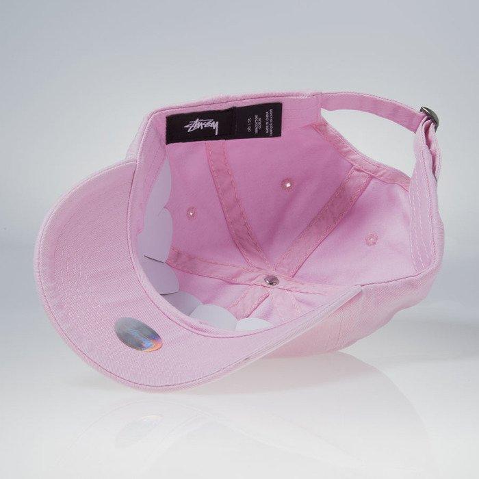 1aec81dd6d8 Stussy strapback Stock Low Profile pink ...