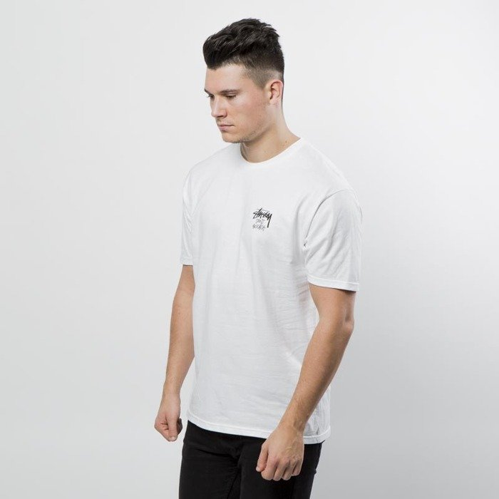 Stussy T Shirt Don 39 T Scratch Tee White