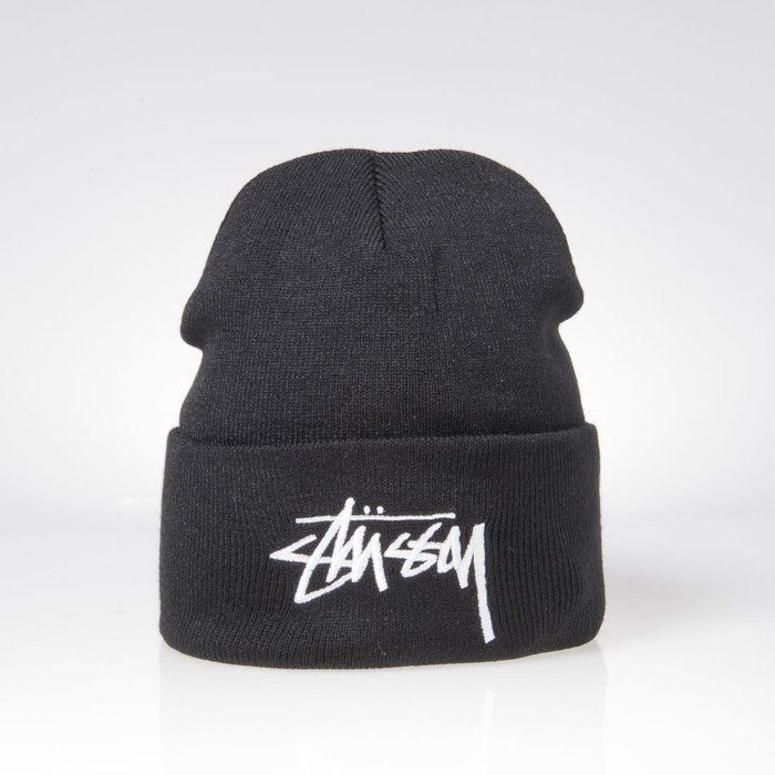 ... Stussy winter beanie Stock Cuff Beanie black ... 55e579149d5