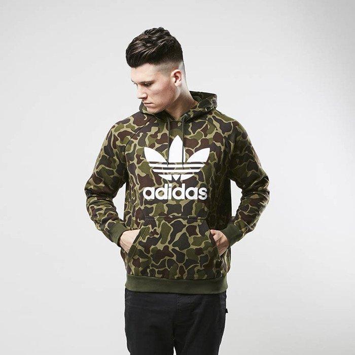 Bluza Adidas Originals Trefoil Camouflage Hoody multicolor