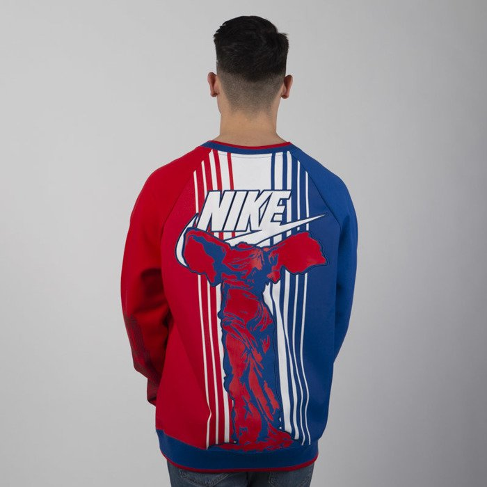 Sweatshirt Nike NSW Crew Paris SSNL blue white red