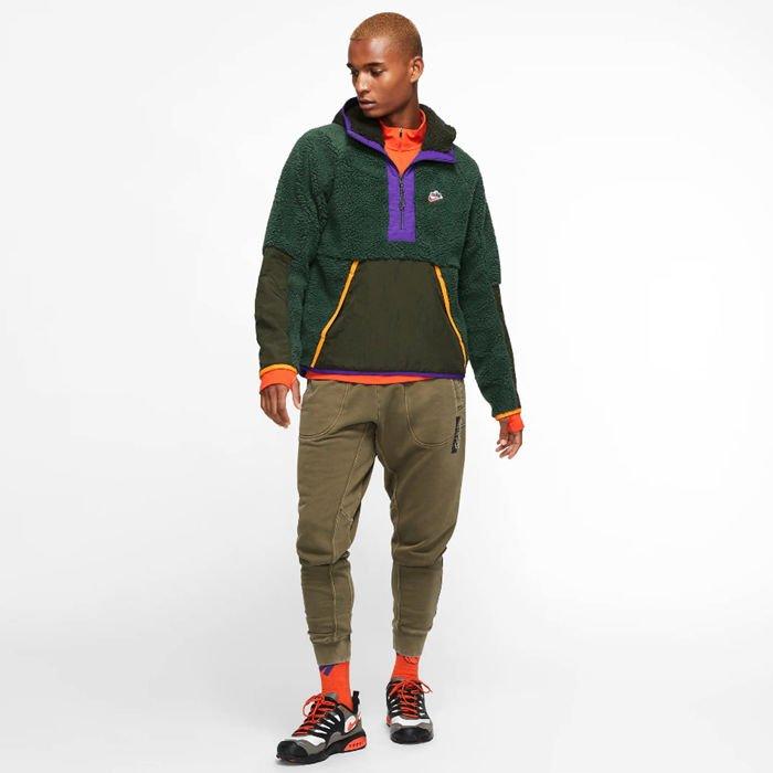 Sweatshirt Nike Sportswear NSW Hoodie Hz Winter green