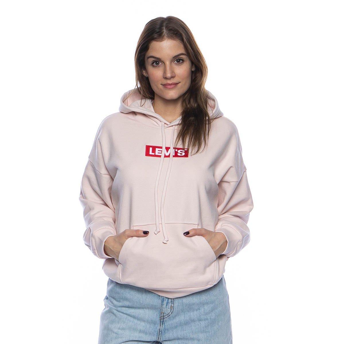 Sweatshirt WMNS Levi's Graphic 2020 Hoodie light pink