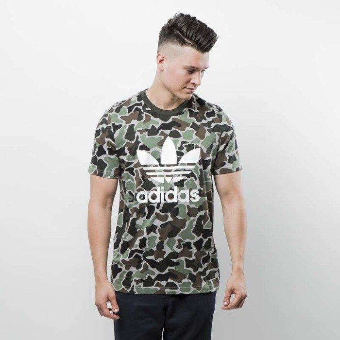 4a42b37663cb7 T-shirt Adidas Originals Camo Trfoil Tee multicolor BS4973 | Bludshop.com