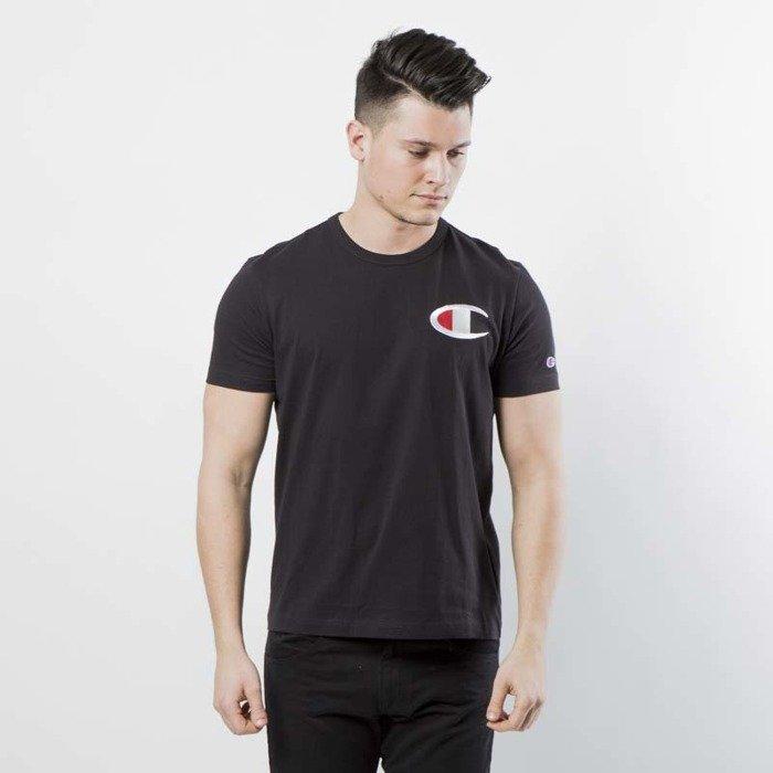 4275709d ... T-shirt Champion Heritage Big C Patch black 211983/S18/KK001 ...