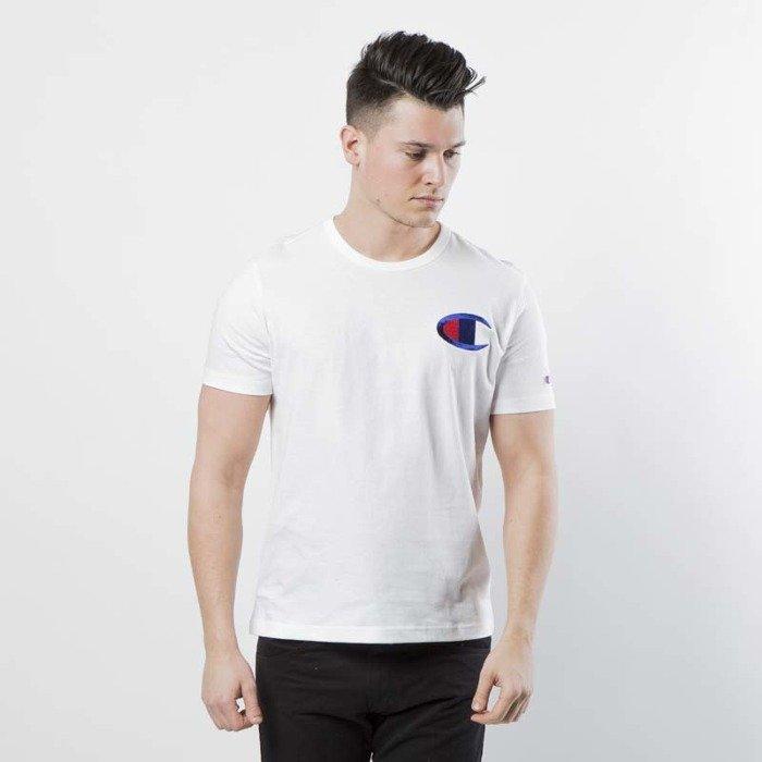 e512872c850d ... T-shirt Champion Heritage Big C Patch white 211983/S18/WW001 ...