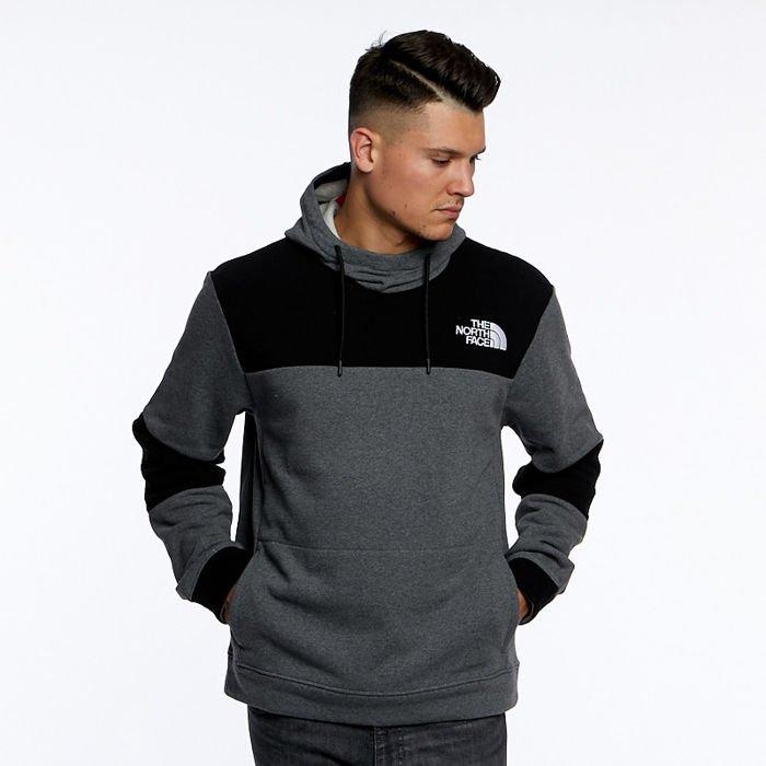 verschiedene Farben anerkannte Marken beliebte Marke The North Face Himalayan Hoodie medium grey heather/black