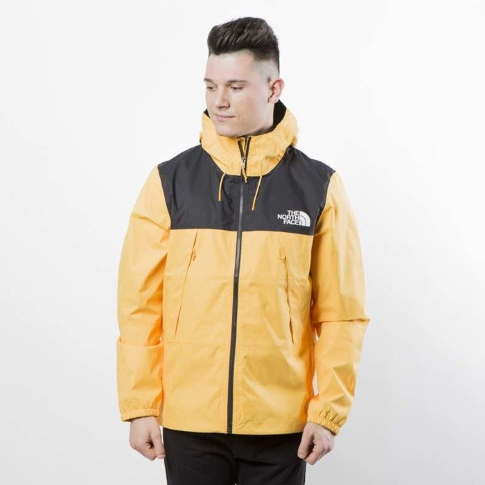 9977723b9 The North Face M 1990 Mountain Q Jacket tnf black / tnf yellow T92S51LE6