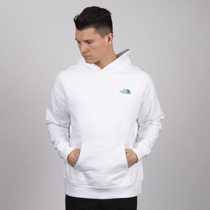 The North Face Raglan Redbox Hoodie Green Product Code