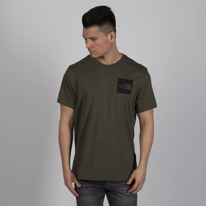 74bf9572ea5b51 ... The North Face T-Shirt M S S Fine Tee new taupe green ...